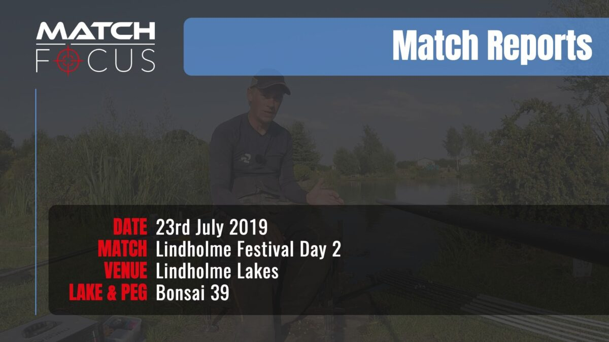Lindholme Festival Day 2 – 23rd July 2019 Match Report