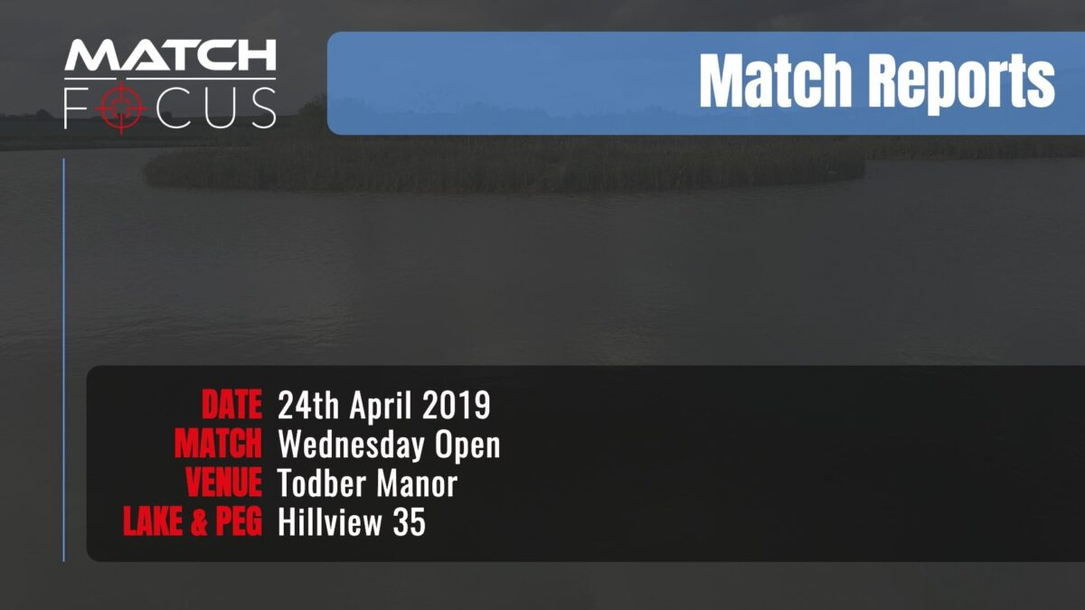 Wednesday Open  –  24th April 2019 Match Report