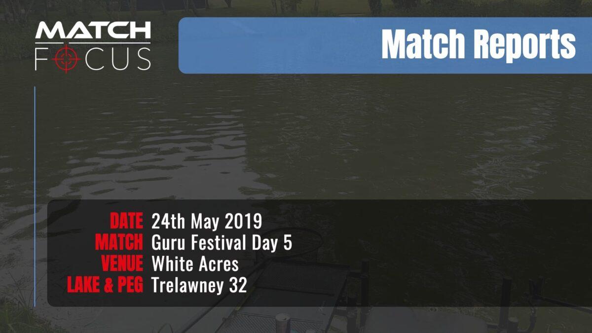 Guru Festival Day 5 – 24th May 2019 Match Report