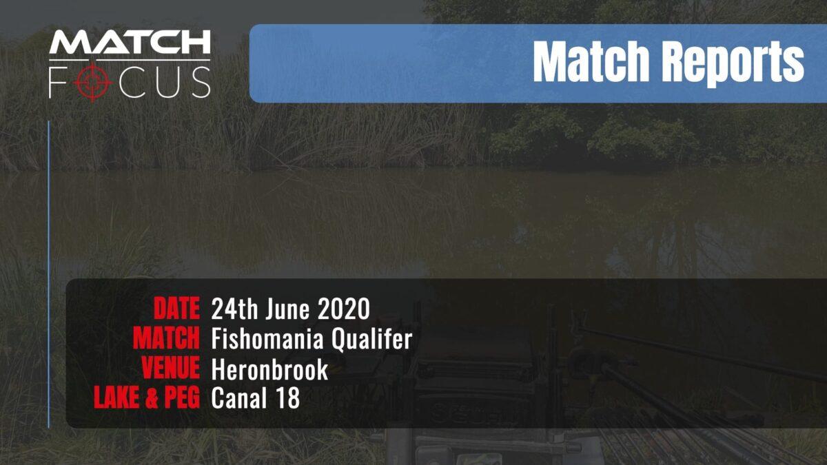 Fishomania Qualifier – 24th June 2020 Match Report