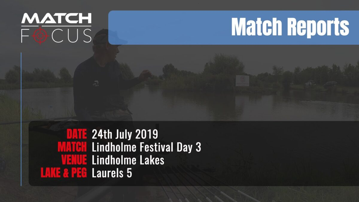 Lindholme Festival Day 3 – 24th July 2019 Match Report