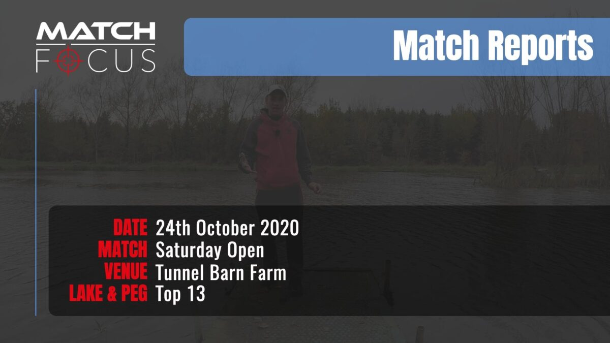 Saturday Open – 24th October 2020 Match Report
