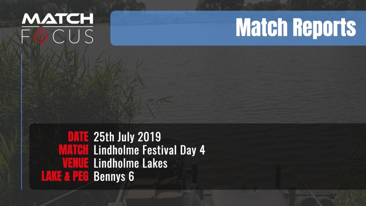 Lindholme Festival Day 4 – 25th July 2019 Match Report
