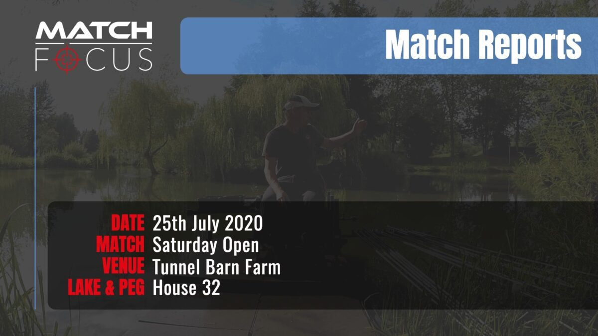 Saturday Open – 25th July 2020 Match Report