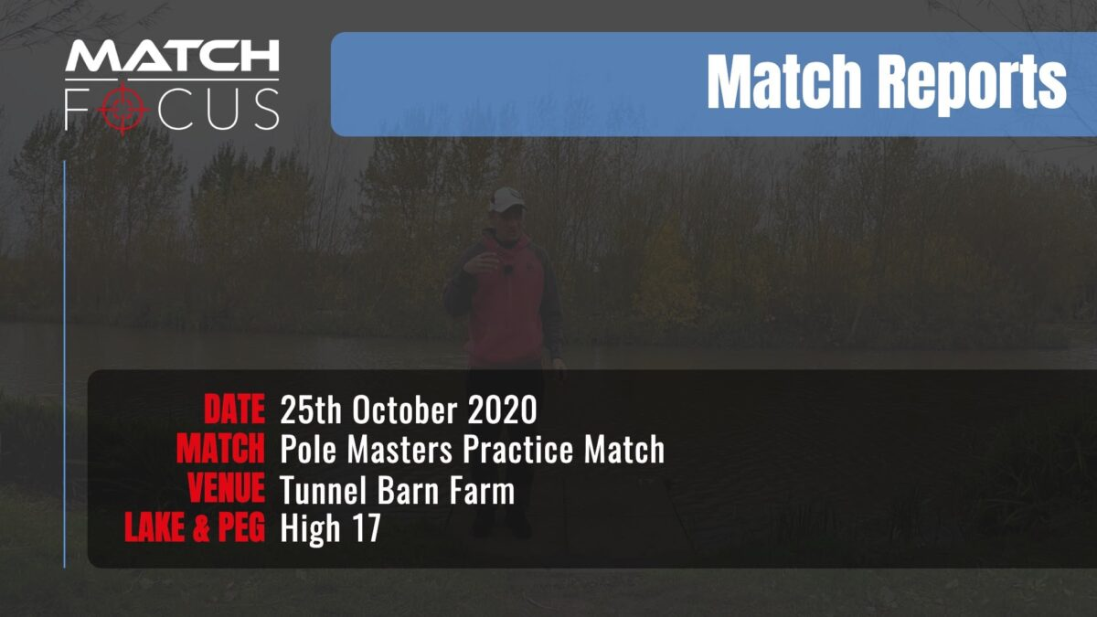 Pole Masters Practice Open – 25th October 2020 Match Report