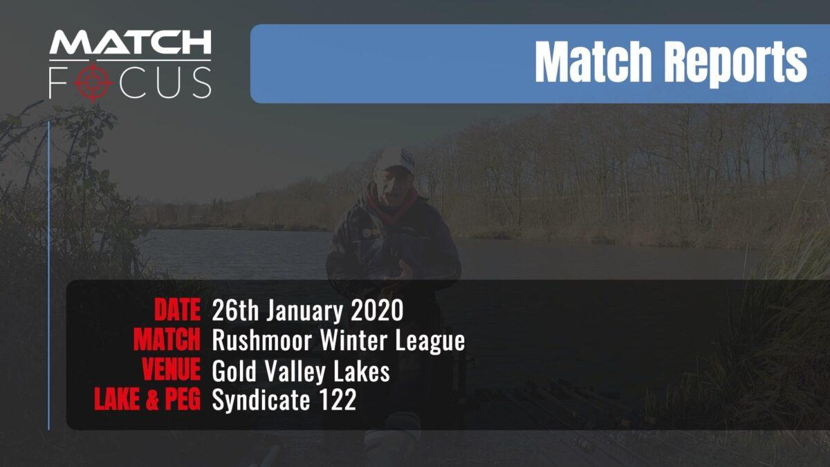 Sunday Rushmoor League R4 – 26th January 2020 Match Report