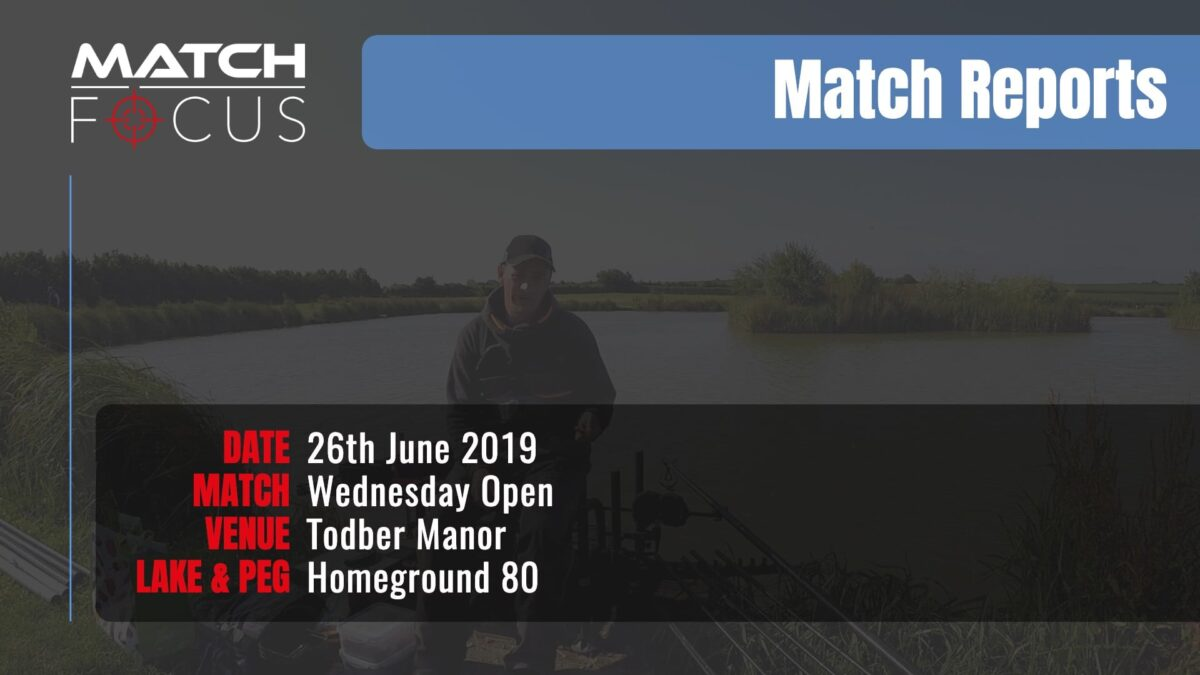 Wednesday Open – 26th June 2019 Match Report