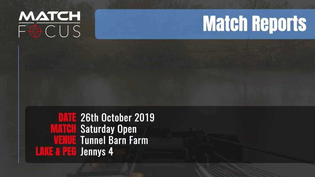 Saturday Open – 26th October 2019 Match Report