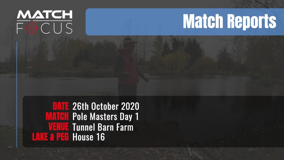Pole Masters Day 1 – 26th October 2020 Match Report