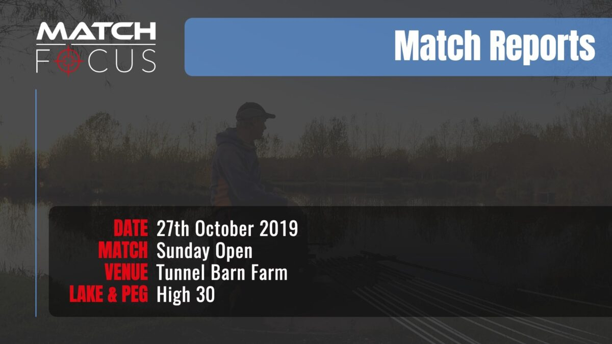Sunday Open – 27th October 2019 Match Report