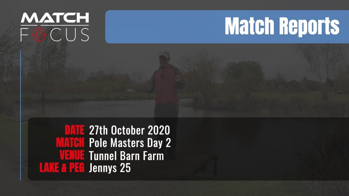 Pole Masters Day 2 – 27th October 2020 Match Report