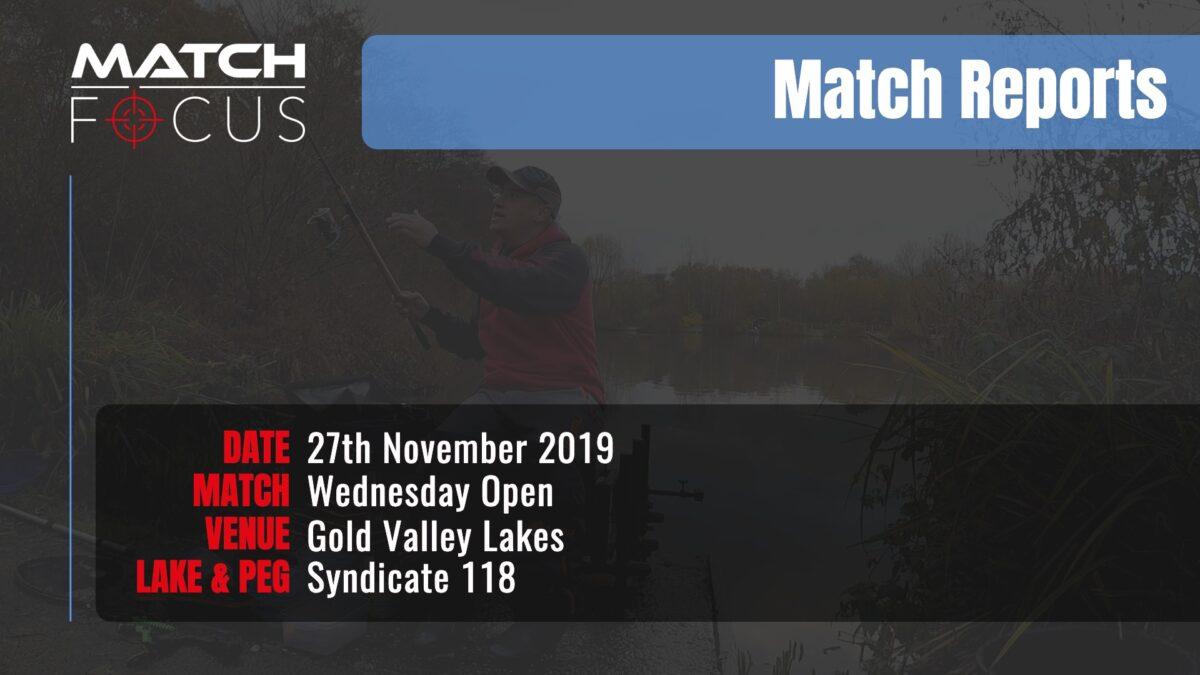 Wednesday Open – 27th November 2019 Match Report
