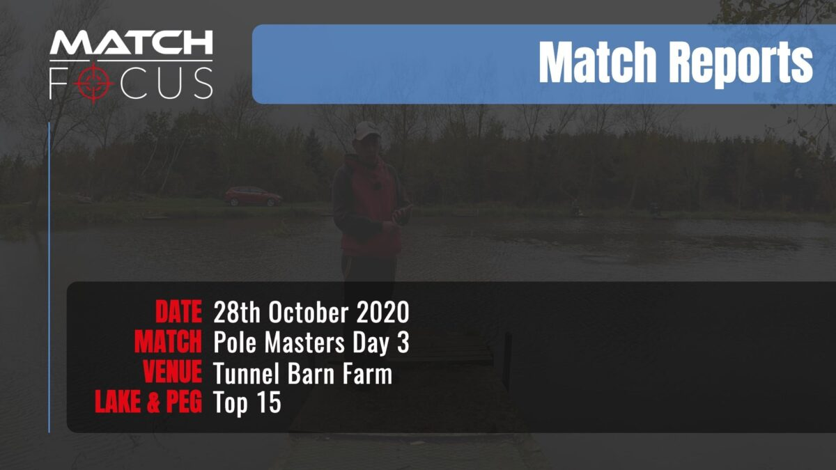 Pole Masters Day 3 – 28th October 2020 Match Report