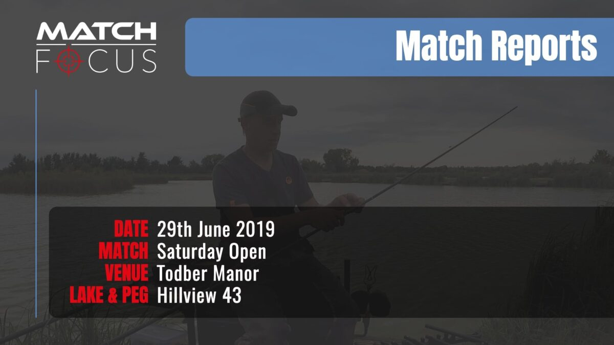 Saturday Open – 29th June 2019 Match Report