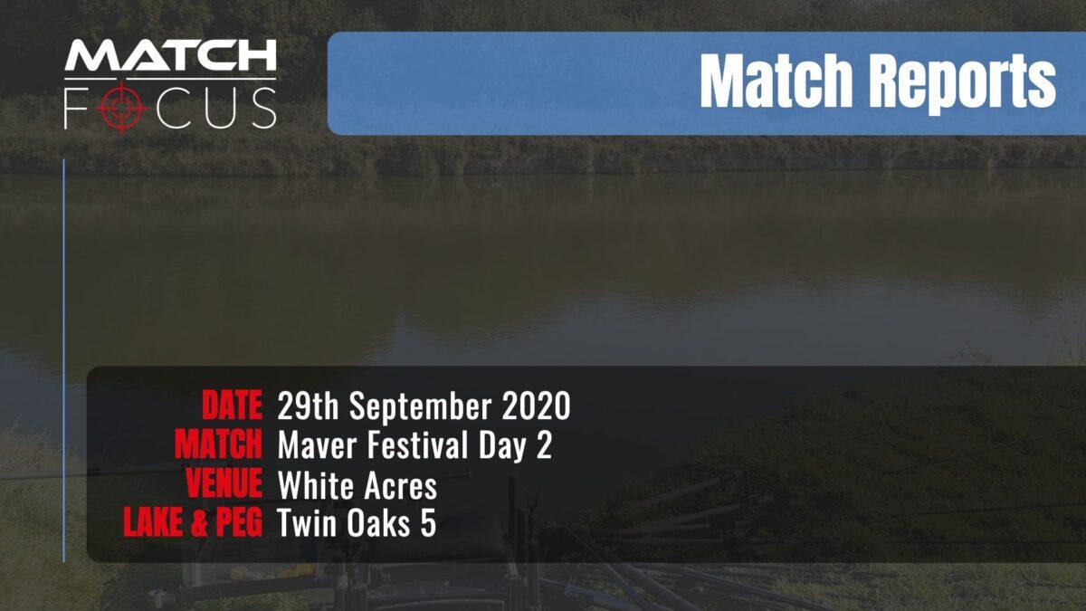 Maver Festival Day 2 – 29th September 2020 Match Report