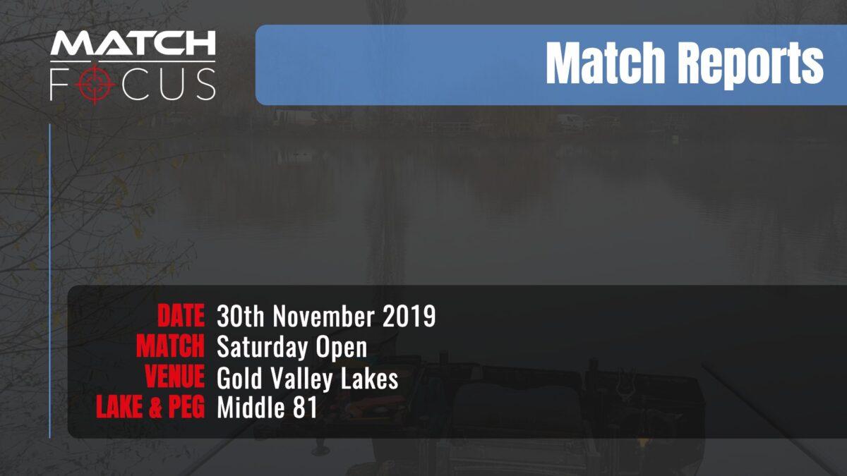 Saturday Open – 30th November 2019 Match Report