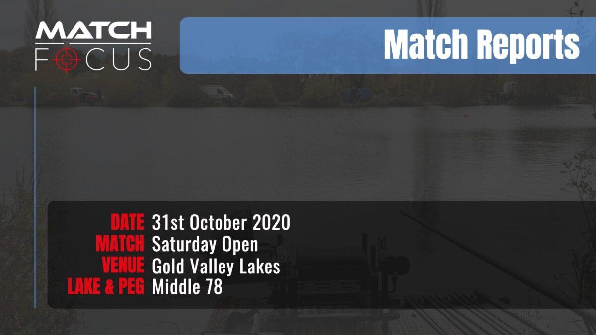 Saturday Open – 31st October 2020 Match Report