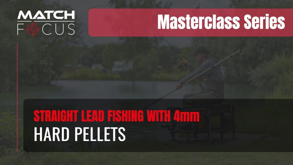 Straight Lead Fishing with 4mm Hard Pellets