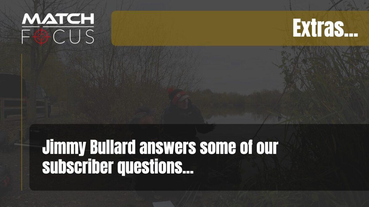 Q&A Jimmy Bullard