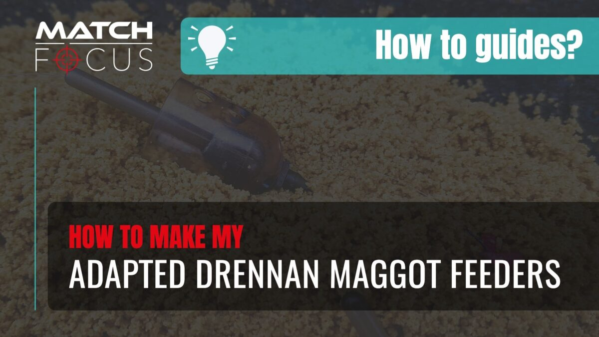 Adapted Drennan Maggot Feeder – How to Guides