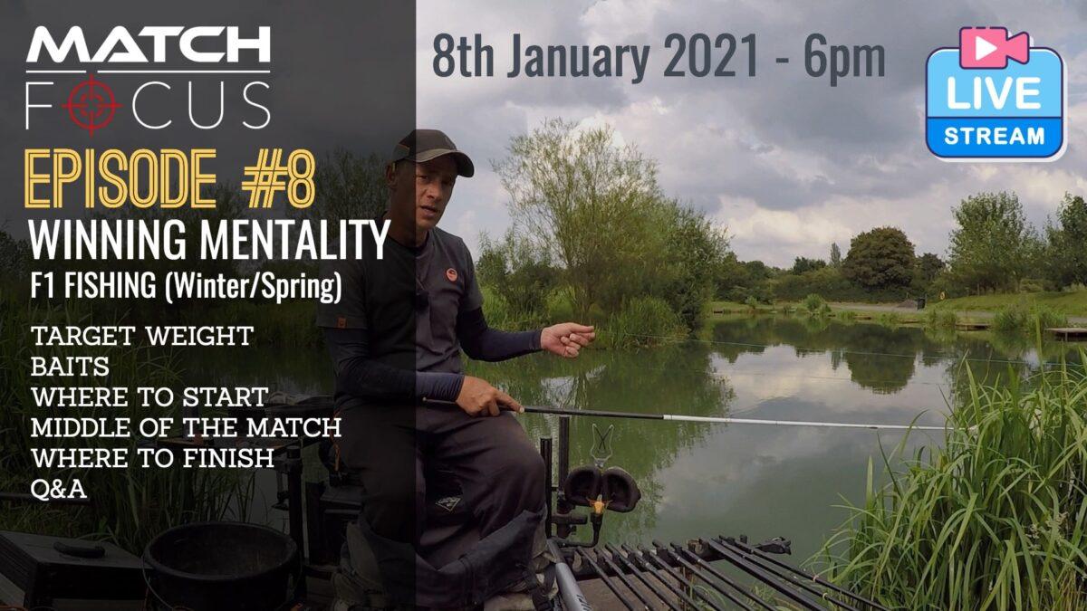 Live – Winning Mentality F1 Fishing – 8th January 2021