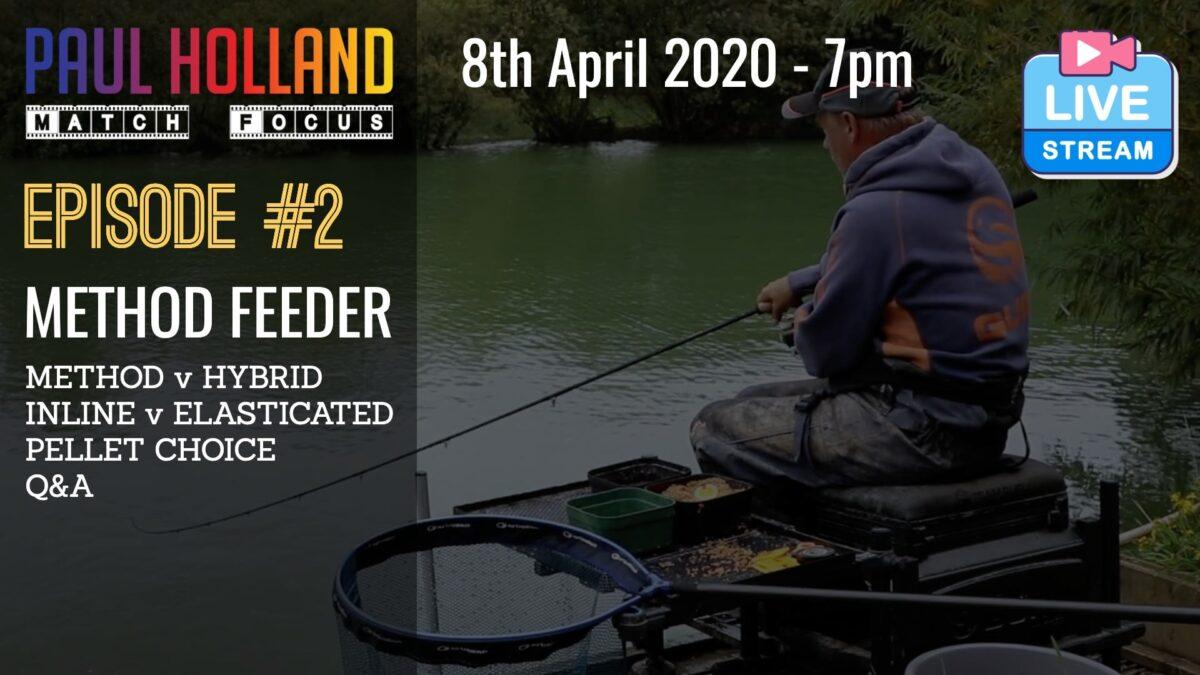 Live – Method Feeder – 8th April 2020