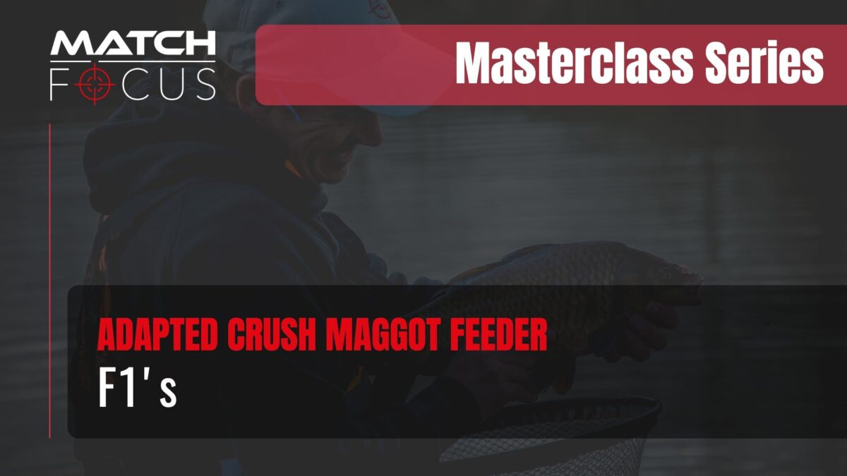 Adapted Crush Maggot Feeder for F1's