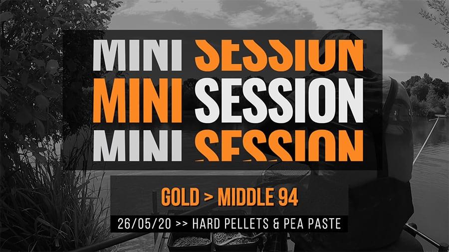 Gold Middle 94 – Hard Pellets & Pea Paste