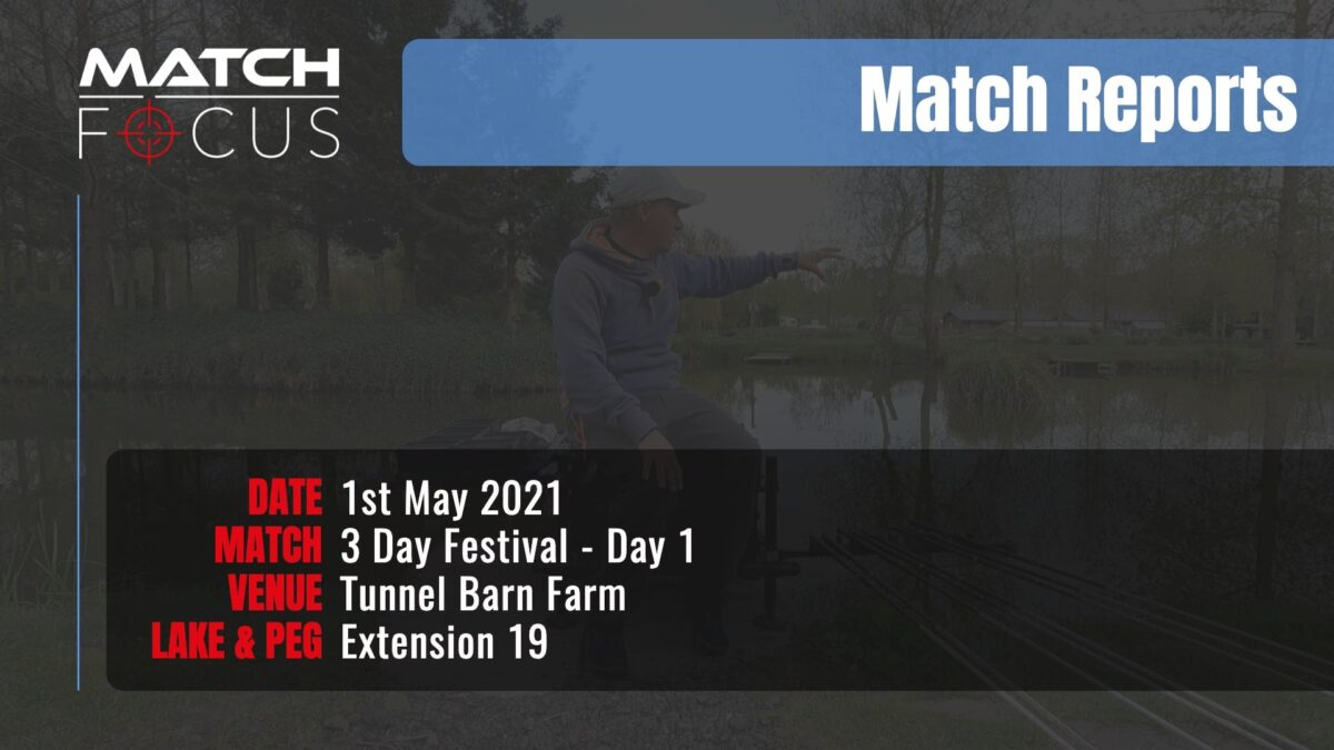 Tunnel 3 Day Festival Day 1 – 1st May 2021 Match Report