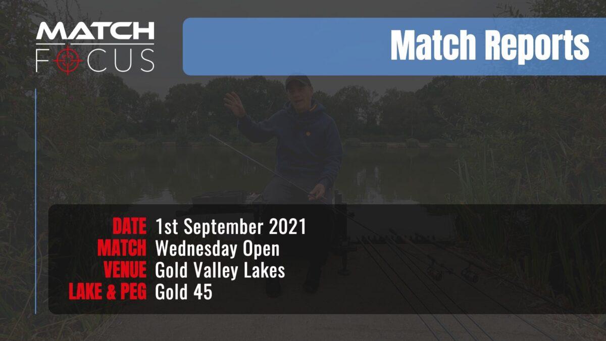 Wednesday Open – 1st September 2021 Match Report