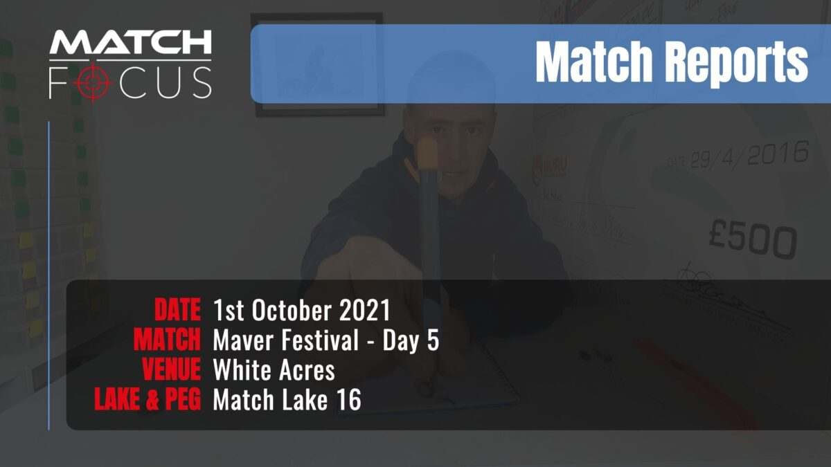 Maver Festival Day 5 – 1st October 2021 Match Report