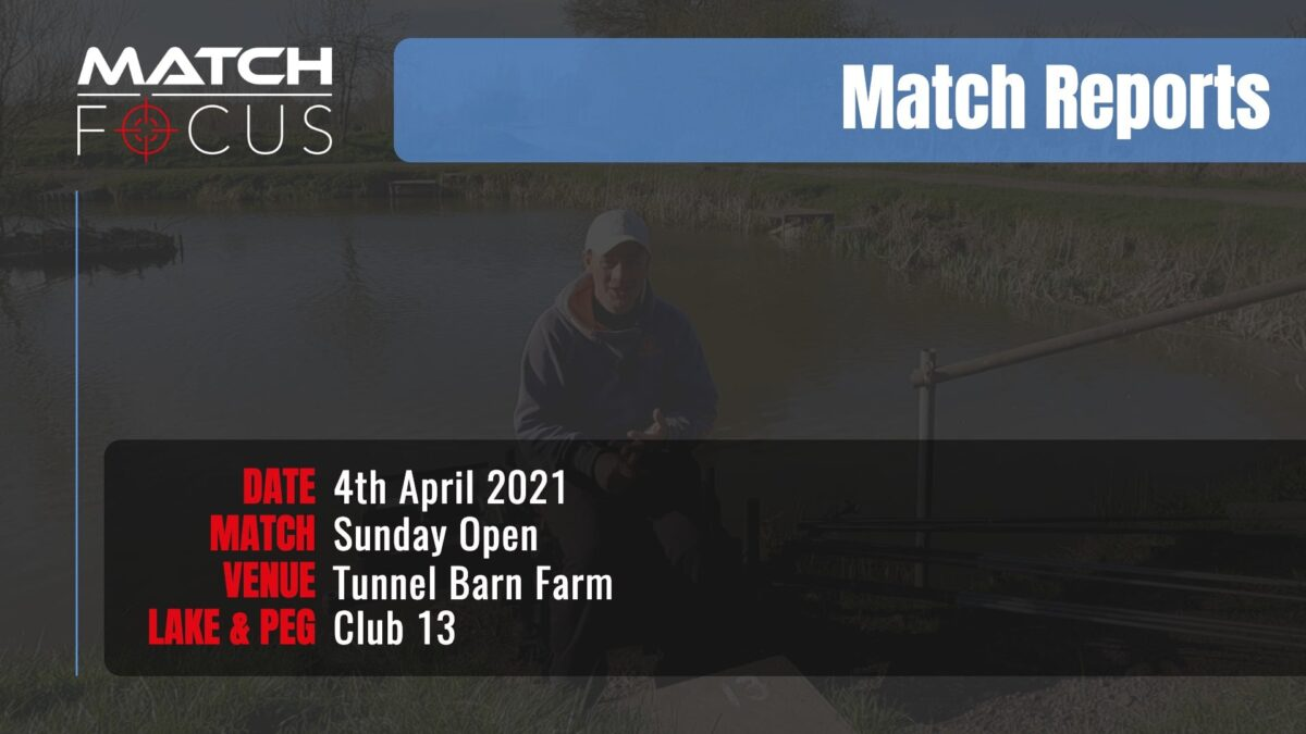 Sunday Open – 4th April 2021 Match Report