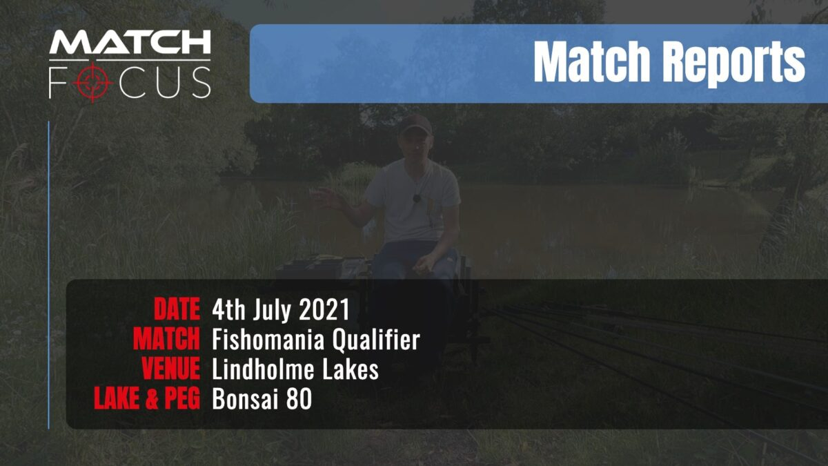 Fishomania Qualifier – 4th July 2021 Match Report