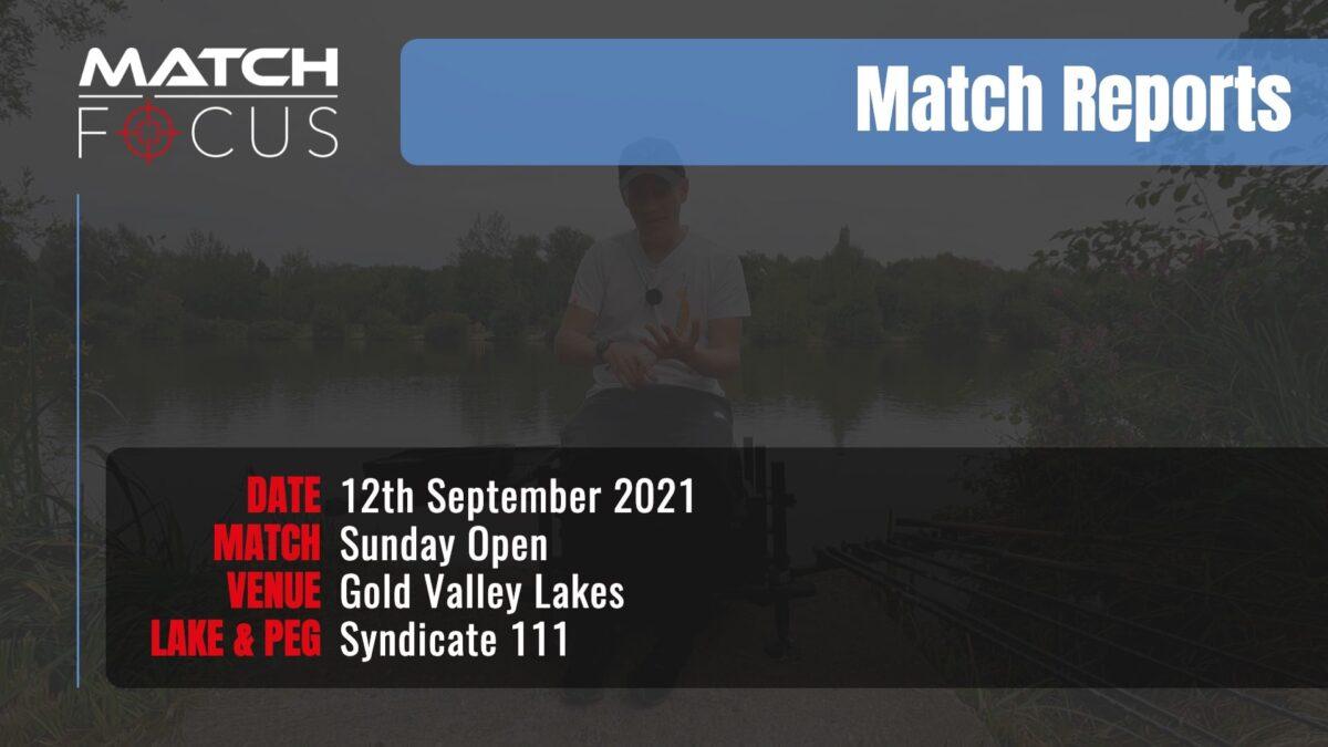 Sunday Open – 12th September 2021 Match Report