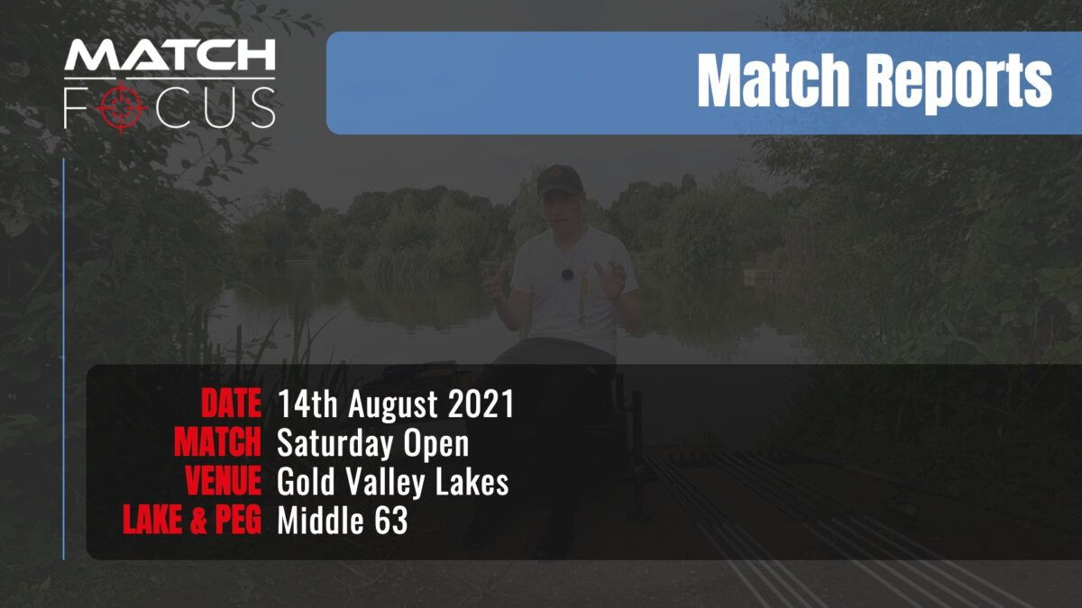 Saturday Open – 14th August 2021 Match Report