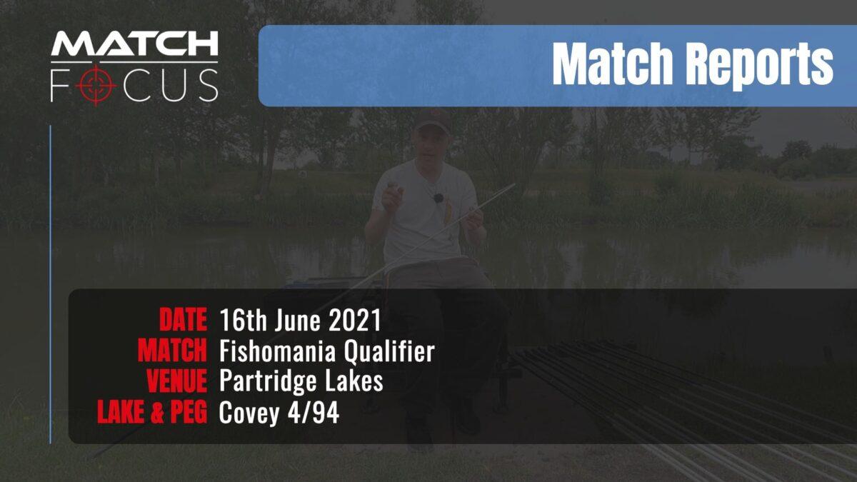 Fishomania Qualifier – 16th June 2021 Match Report
