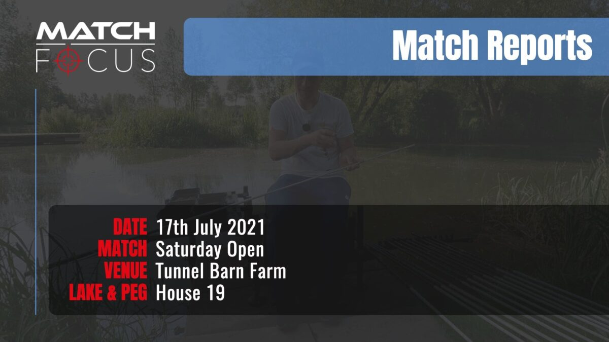 Saturday Open – 17th July 2021 Match Report