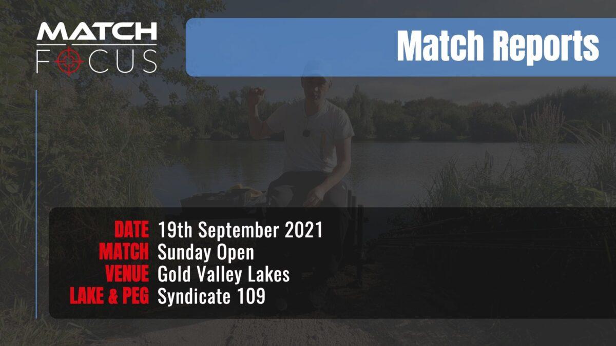 Sunday Open – 19th September 2021 Match Report