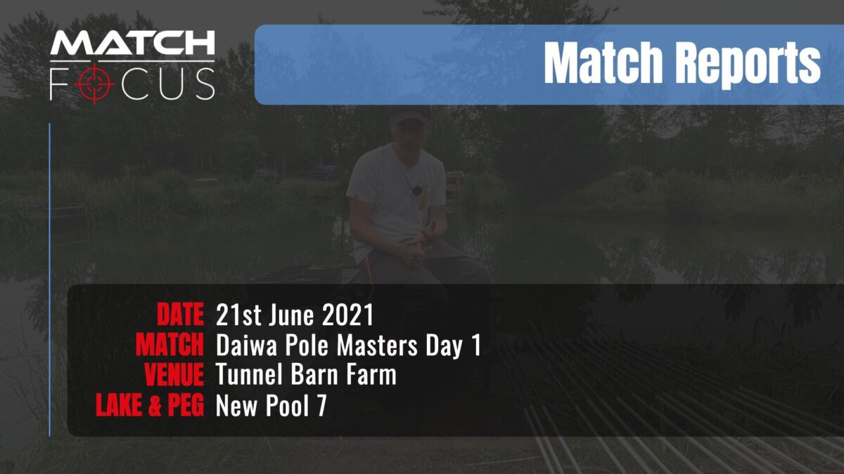 Pole Masters Day 1 – 21st June 2021 Match Report