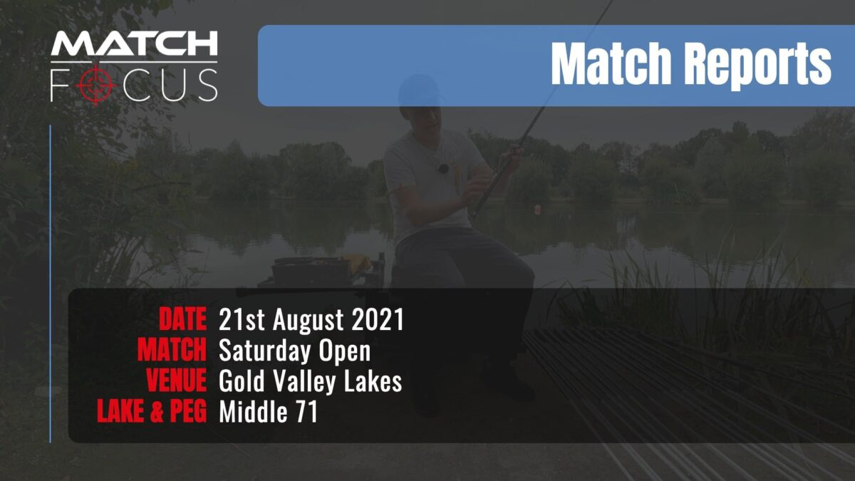 Saturday Open – 21st August 2021 Match Report