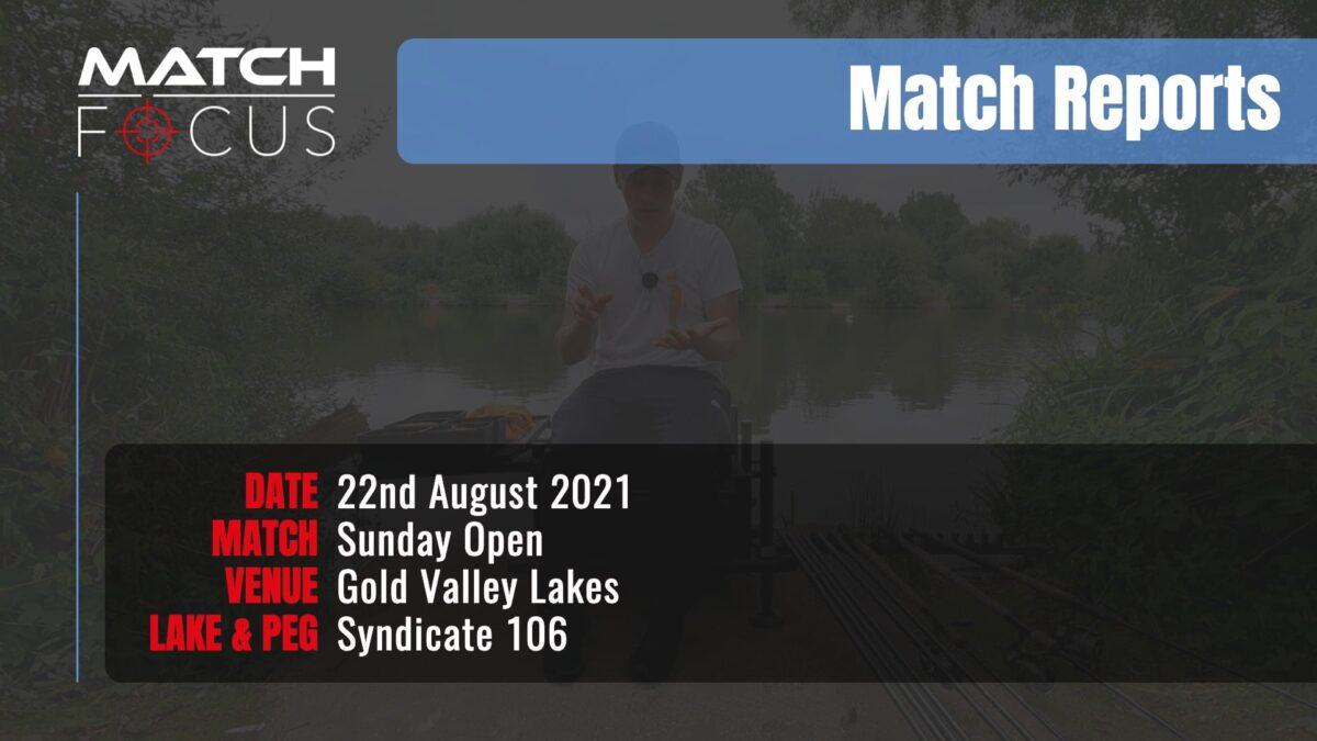 Sunday Open – 22nd August 2021 Match Report