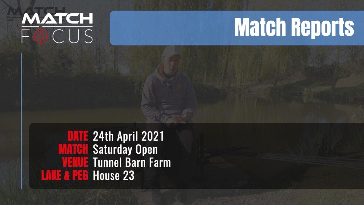 Saturday Open – 24th April 2021 Match Report
