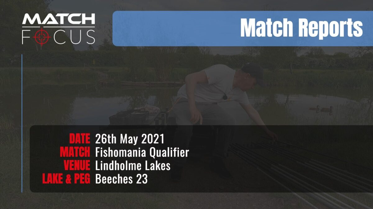 Fishomania Qualifier – 26th May 2021 Match Report