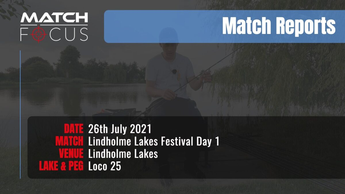 Lindholme Lakes Festival Day 1 – 26th July 2021 Match Report