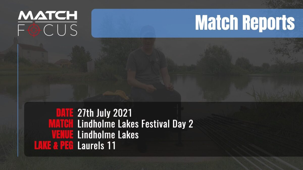 Lindholme Lakes Festival Day 2 – 27th July 2021 Match Report