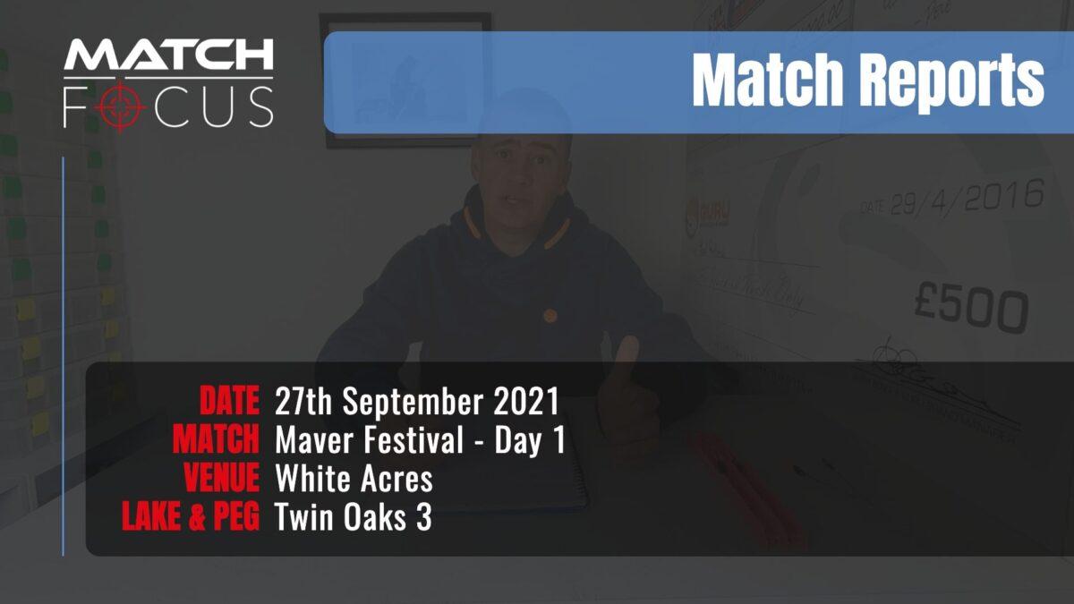 Maver Festival Day 1 – 27th September 2021 Match Report