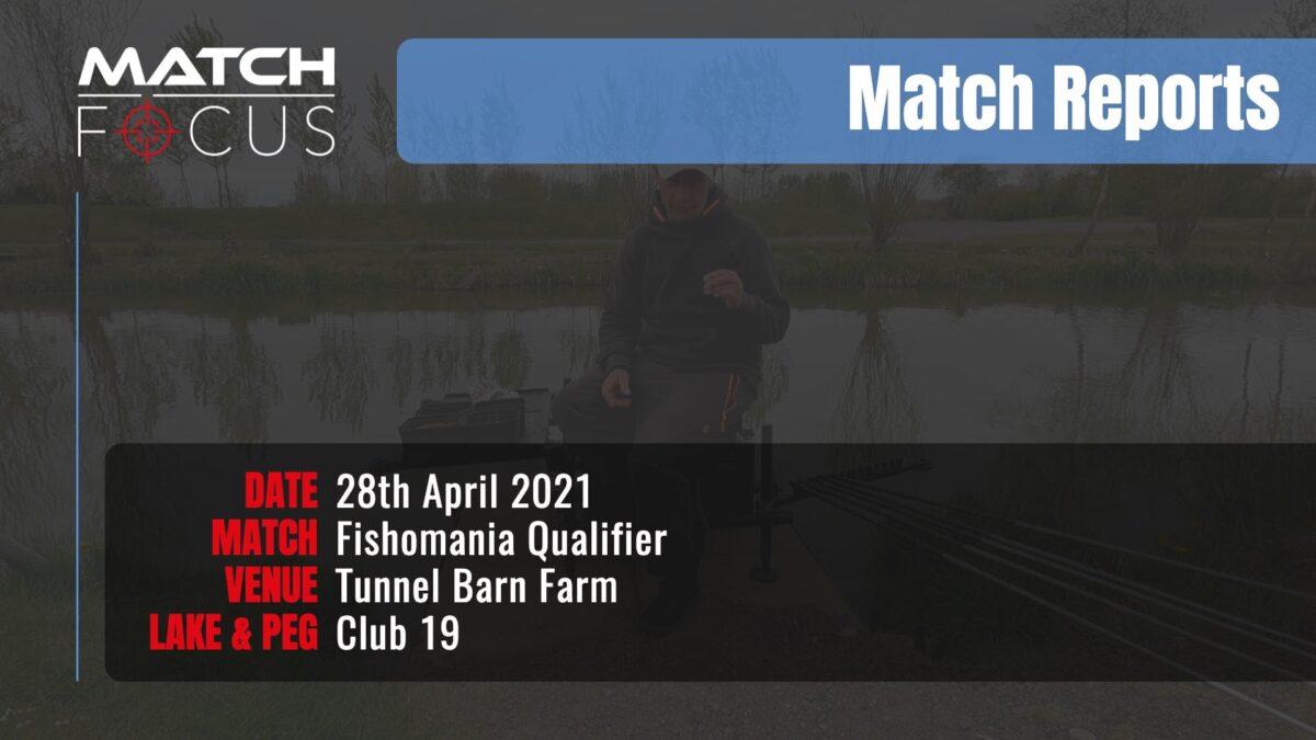 Fishomania Qualifier – 28th April 2021 Match Report