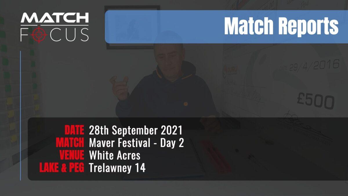 Maver Festival Day 2 – 28th September 2021 Match Report