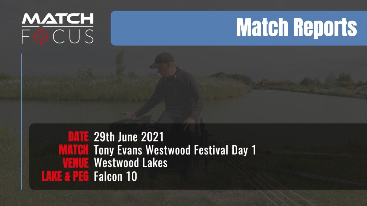 Tony Evans Westwood Festival Day 1 – 29th June 2021 Match Report