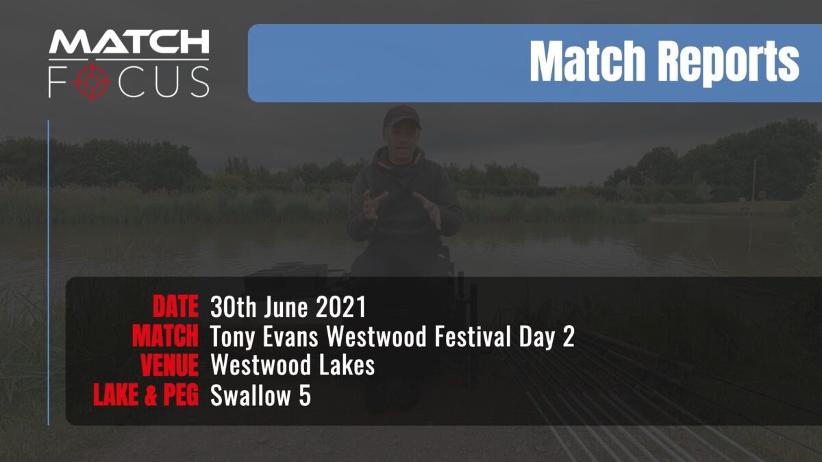 Tony Evans Westwood Festival Day 2 – 30th June 2021 Match Report